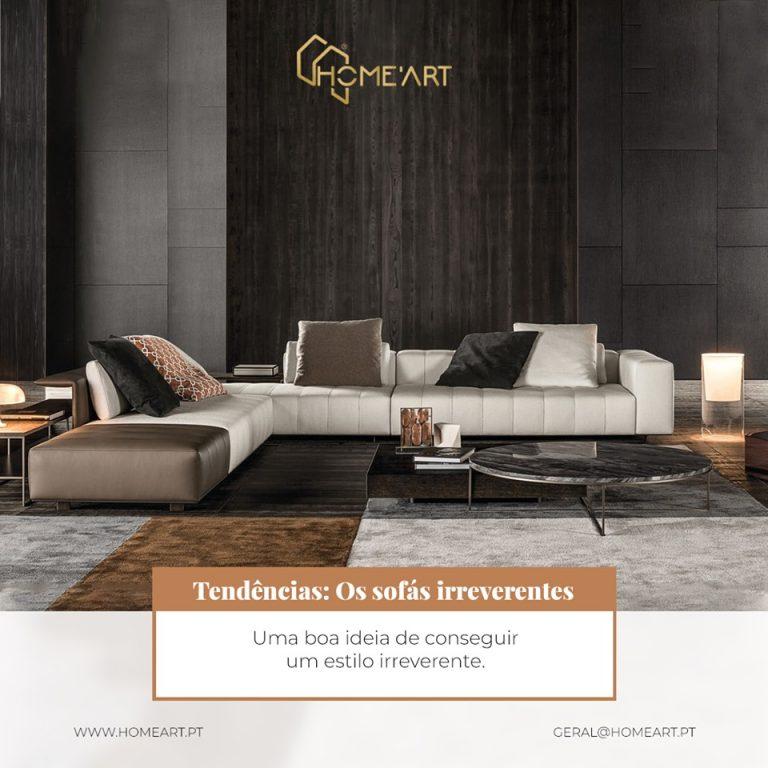 Tendências: Os sofás irreverentes