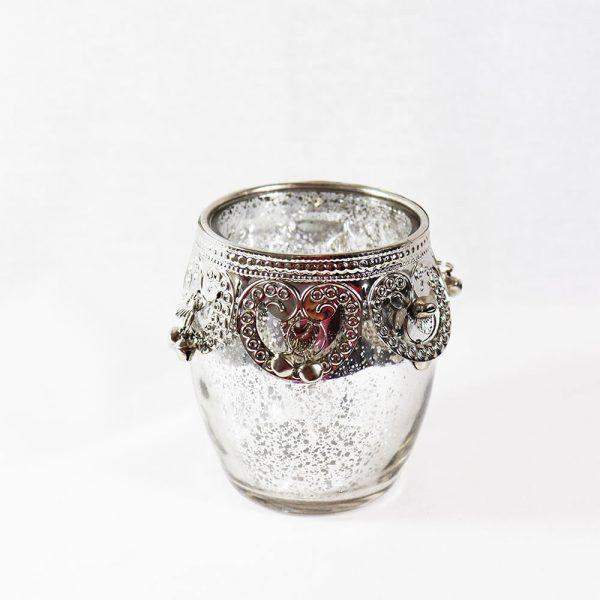 Tealight Vidro Mercurizado