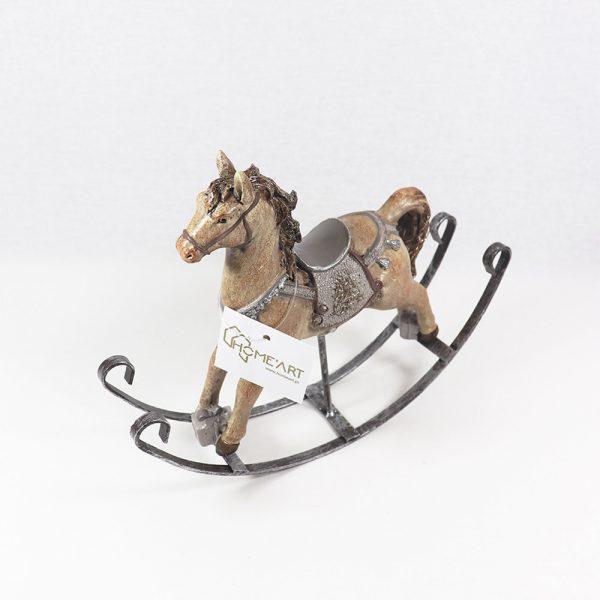 Cavalo de Baloiço em Resina
