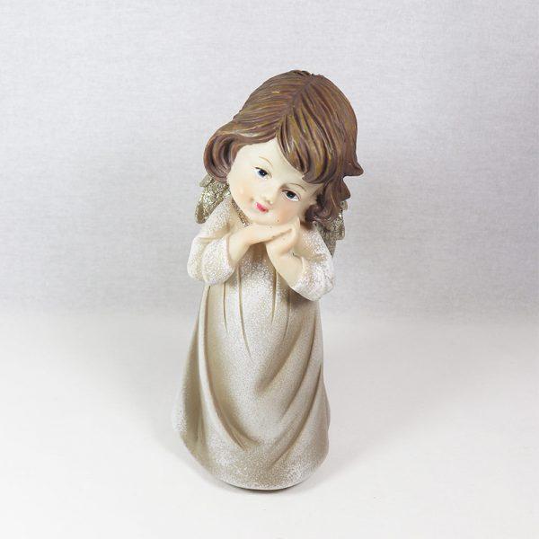 Figura Decorativa Anjo de Pé