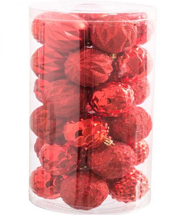 Set 30 bolas Vermelho