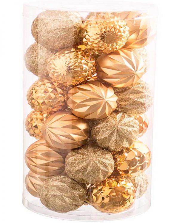 Set 30 bolas Dourado