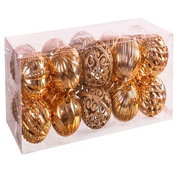 Set 20 bolas Dourado