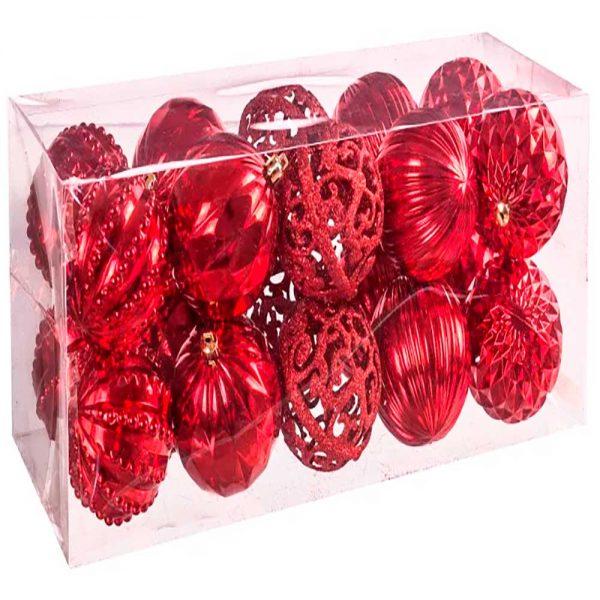Set 20 bolas Vermelho