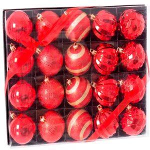 Set 20 bolas decoradas | Homeart - Design e Decoração de Interiores | 19000768