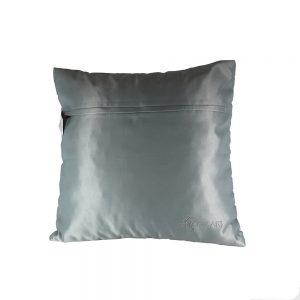 Almofada Cetim Line Blue | Homeart - Design e Decoração de Interiores | 18000203