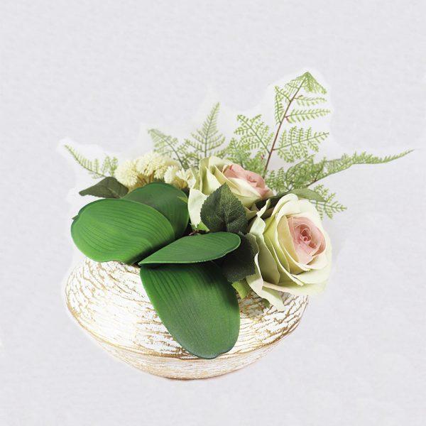 Centro de Mesa com Arranjo Floral