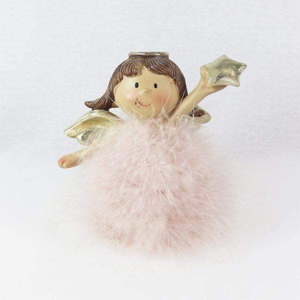 Anjo com Plumas 14 cm