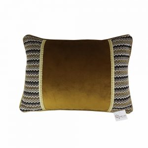 Almofada Veludo Zig Zag | Homeart - Design e Decoração de Interiores | 18000480