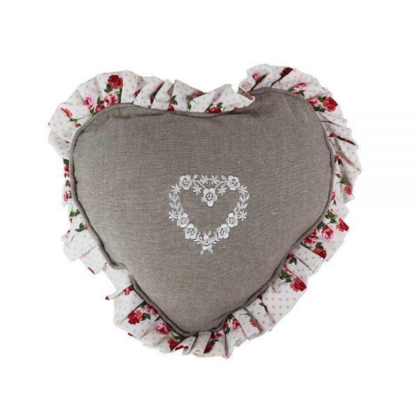 Almofada Formato Coração