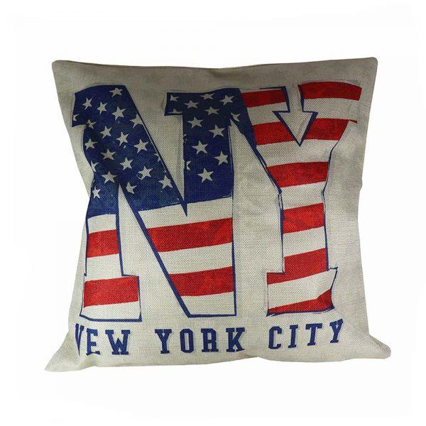 Almofada Linho New York City