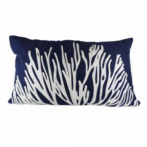 Almofada Algodão Bordado Coral | Homeart - Design e Decoração de Interiores | 18000483