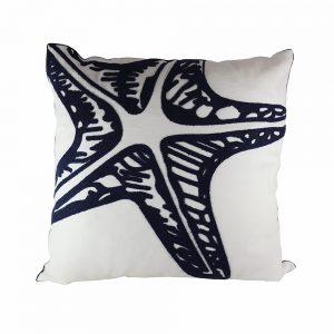 Almofada Algodão Bordado Estrela Do Mar | Homeart - Design e Decoração de Interiores | 18000483