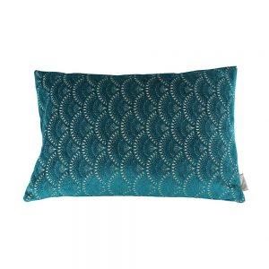Almofada Chenille Azul | Homeart - Design e Decoração de Interiores | 18000483