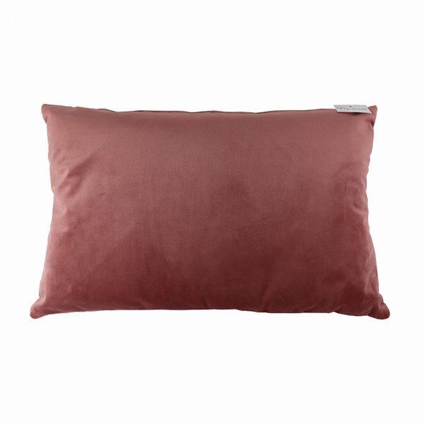 Almofada Veludo Rosa Velho