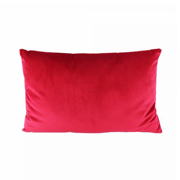 Almofada Veludo Vermelha