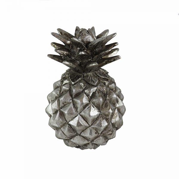 Ananás em Marfinite Prateado