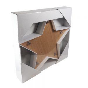 Estrela com Efeito Madeira | Homeart - Design e Decoração de Interiores | 19000165