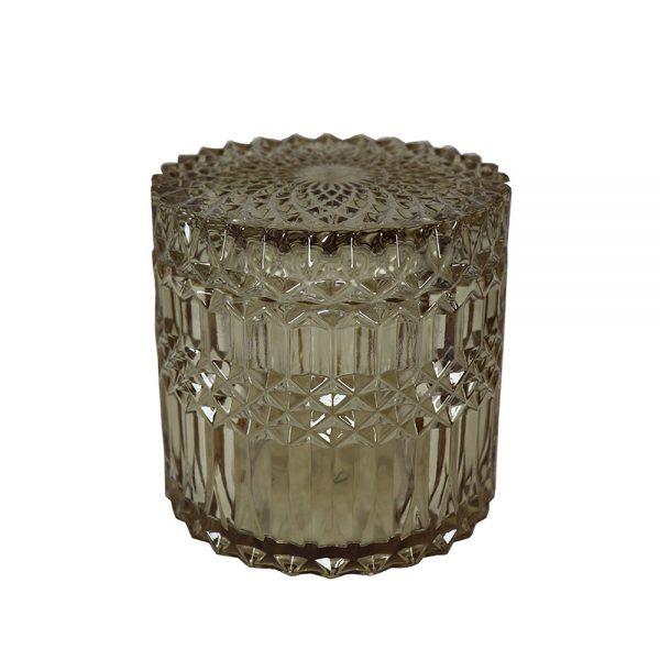 Caixa de Vidro Decorativa