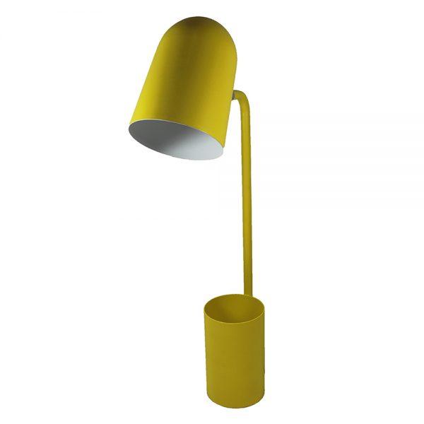 Candeeiro de Metal Amarelo