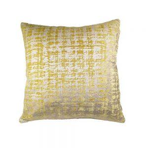 Almofada Chenil e Veludo Mostarda | Homeart - Design e Decoração de Interiores | 19000737