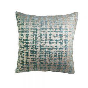Almofada Chenil e Veludo Azul | Homeart - Design e Decoração de Interiores | 19000738