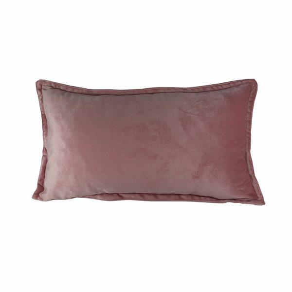 Almofada Veludo Rosa Básica