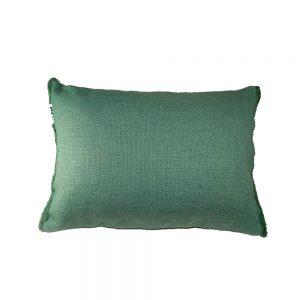 Almofada Verde com Franja | Homeart - Design e Decoração de Interiores | 19000742