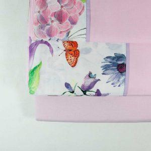 Jogo de Cama Rosa | Homeart - Design e Decoração de Interiores | 18000169