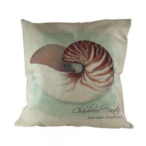 Almofada Linho Chambered Nautilus | Homeart - Design e Decoração de Interiores | 18000481