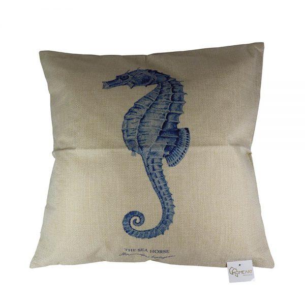Almofada Linho The Sea Horse