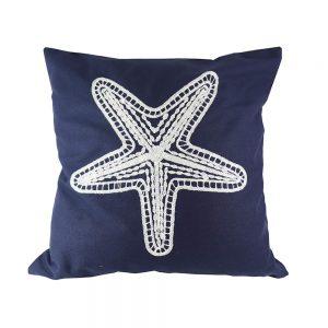 Almofada Algodão Bordado Estrela Do Mar | Homeart - Design e Decoração de Interiores | 18000482