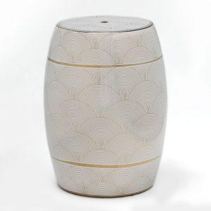 Tamborete de Cerâmica | Homeart - Design e Decoração de Interiores | 19000261