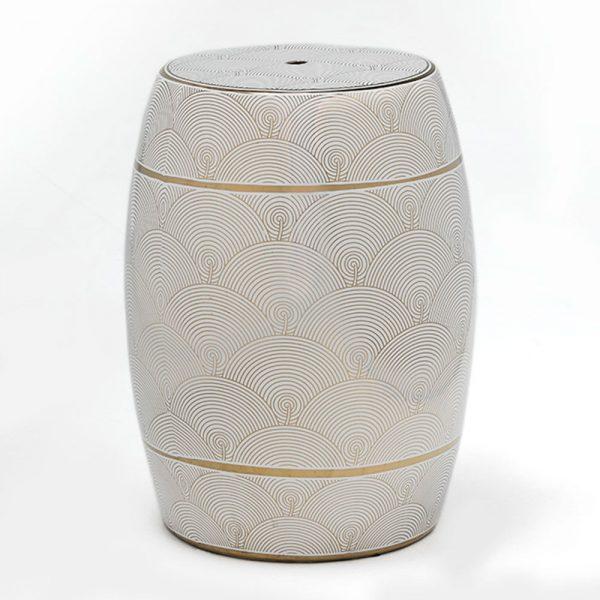 Tamborete de Cerâmica