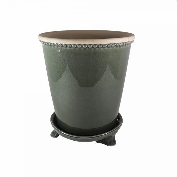 Vaso Cerâmica Verde