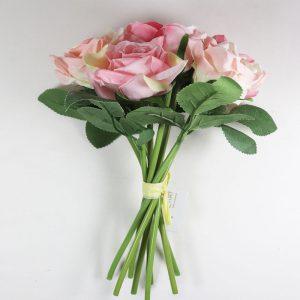 Bouquet de Rosas cor Rosa Artificial | Homeart - Design e Decoração de Interiores | 19000624