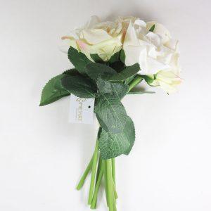 Bouquet de Rosas cor Branco Artificial | Homeart - Design e Decoração de Interiores | 19000624