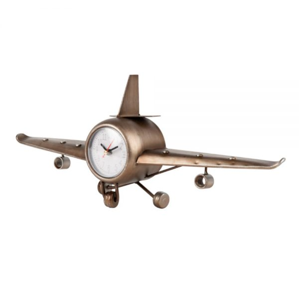 Relógio Formato Avioneta