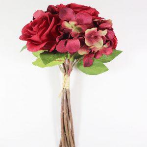 Bouquet Hortênsias e Rosas em Vermelho | Homeart - Design e Decoração de Interiores | 19000654