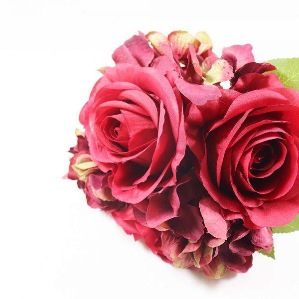 Bouquet Hortênsias e Rosas
