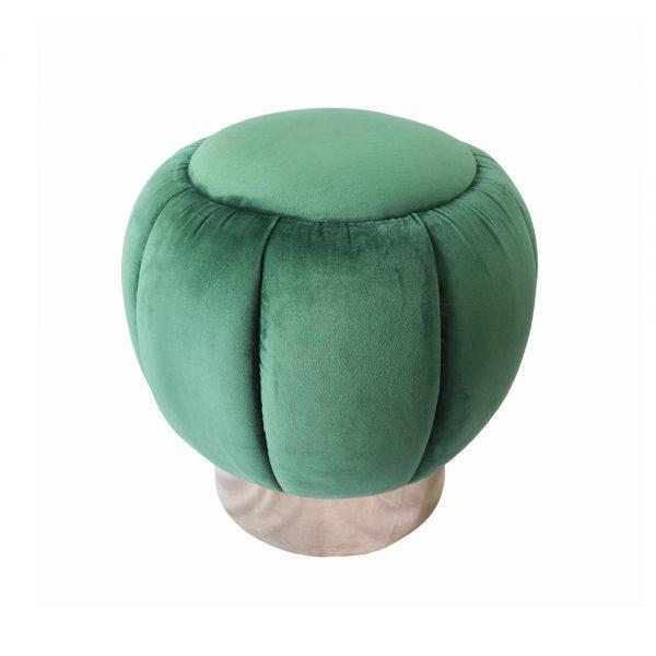 Puff Veludo Verde