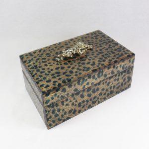 Caixa de vidro padrão Leopardo | Homeart - Design e Decoração de Interiores | 19000730