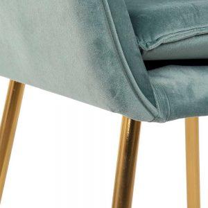 Cadeira Veludo Azul | Homeart - Design e Decoração de Interiores | 19000781