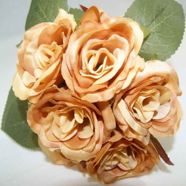 Atado 6 Rosas Laranja