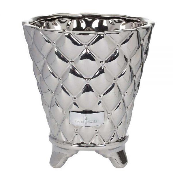 Vaso Cerâmica Lene Bjerre Prateado
