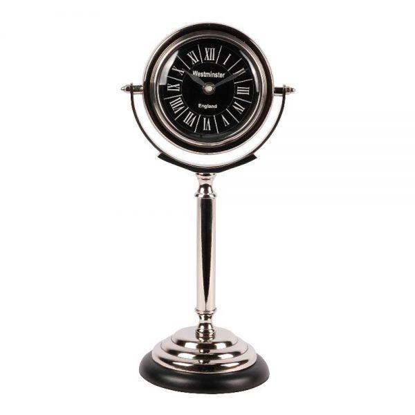 Relógio Metal e Vidro