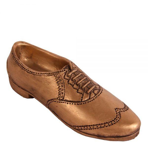 Sapato Poliresina Dourado