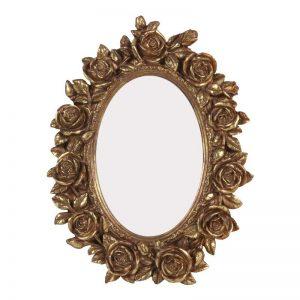 Moldura Rosas Poliresina Dourado | Homeart - Design e Decoração de Interiores | 19000874