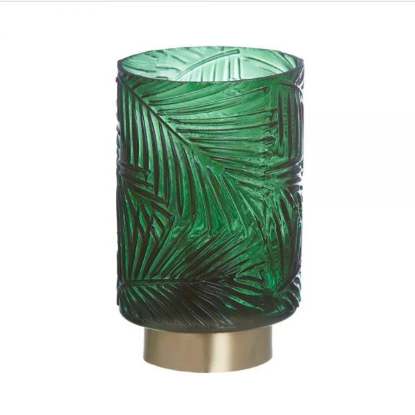 Lanterna Vidro com Lâmpada
