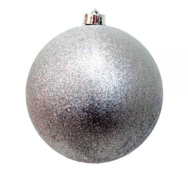 Bola Natal Gigante Prateado